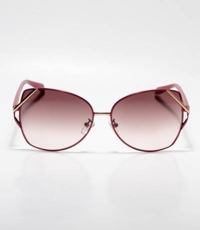 GUCCI Cat-eye Rectangular Brown Ladies Sunglass
