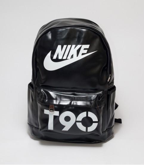 Nike T90 Black Color Rexine Backpack