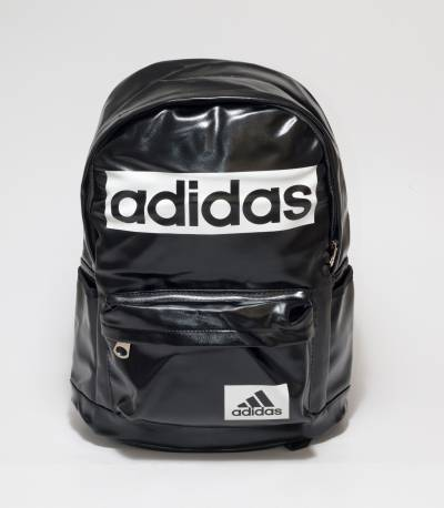 Adidas Black Color Rexine Backpack