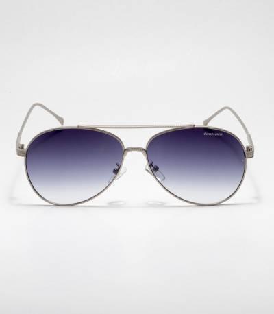 Fastrack Caravan Blue Lens & Silver Frame Sunglass
