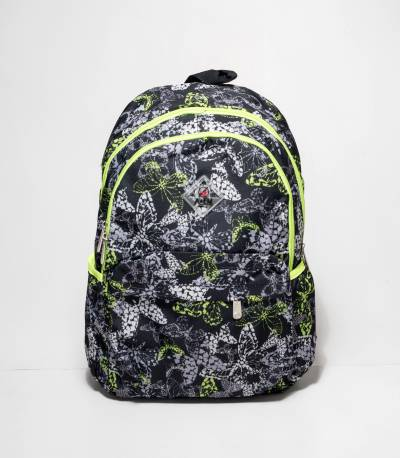 A&EM Black Color Butterfly Backpack