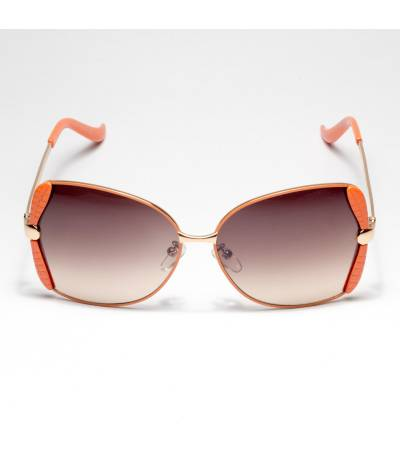 Gucci Leaf Orange Color Sunglass