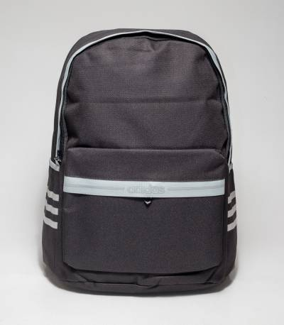 Adidas Gray Stripe Black Color Backpack