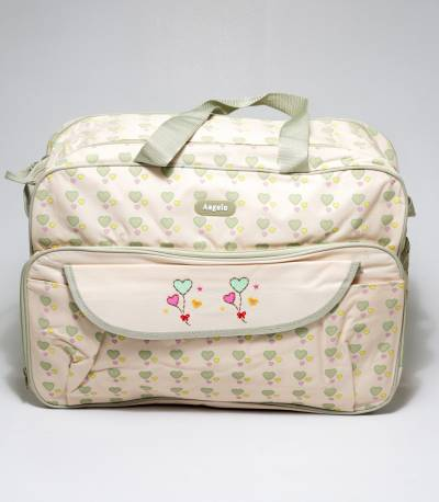 Angelo Cream Color Baby Diaper Bags