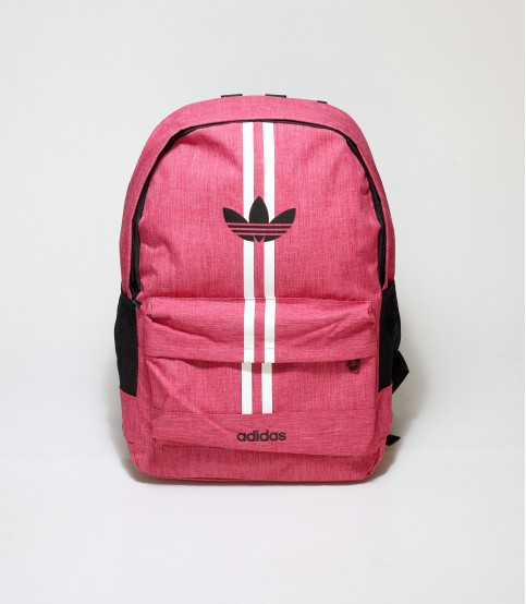 Adidas Double Stripes Pink Color Backpack