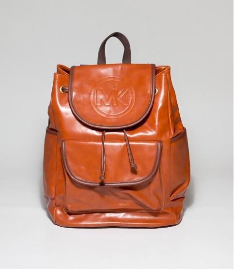 MK Light Brown Backpack