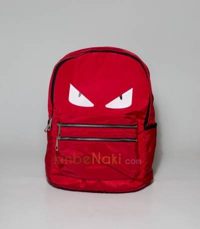 Eye Print Red Backpack