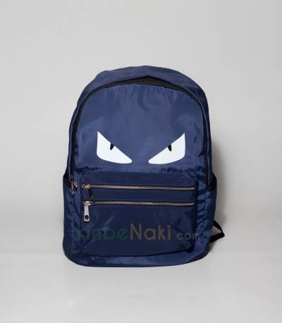 Eye Print Blue Backpack