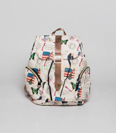 USA And Guitar Backpack