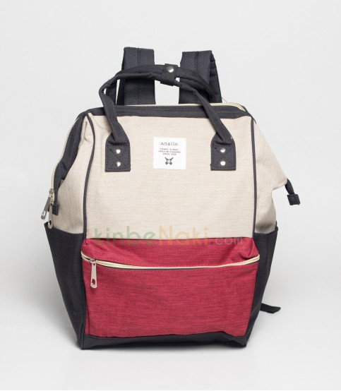Anello BLack And Red Backpack