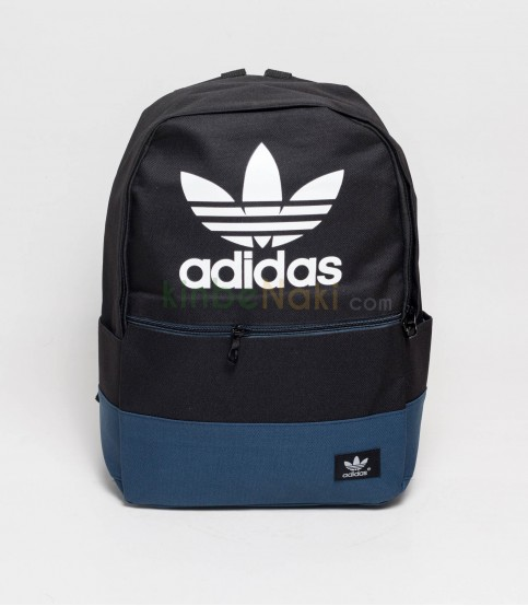 Adidas Black And Blue Color Backpack