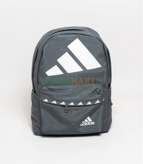 Adidas Big Logo Gray Backpack