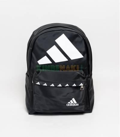 Adidas Big Logo Black Backpack