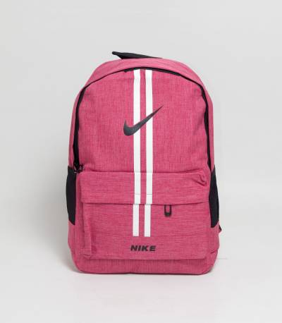 Nike Double Stripes Pink Color Backpack