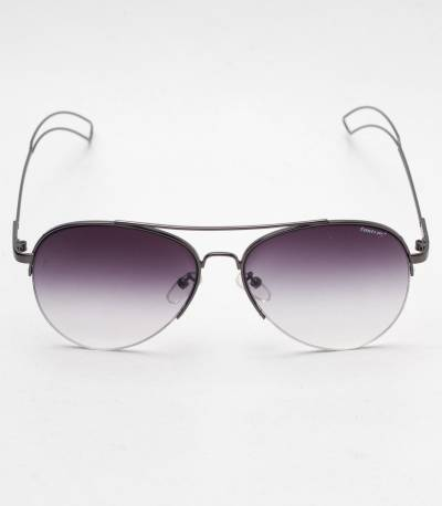 Fastrack light Purple And Metal Frame Sunglass