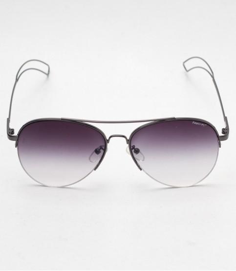Fastrack light Purple And Metal Frame Sunglass