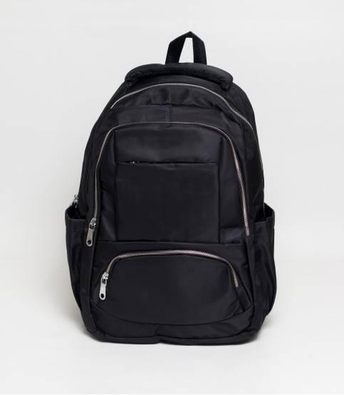 Fortune Black Color Laptop Backpack