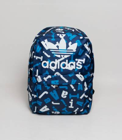 Adidas Navy Letter Backpack