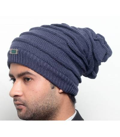 Men's Light Navy Beanie