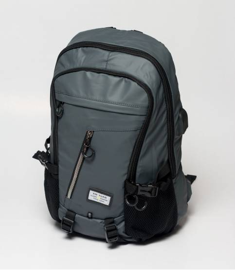 Xin Yuan Multi Functional Gray Waterproof Backpack