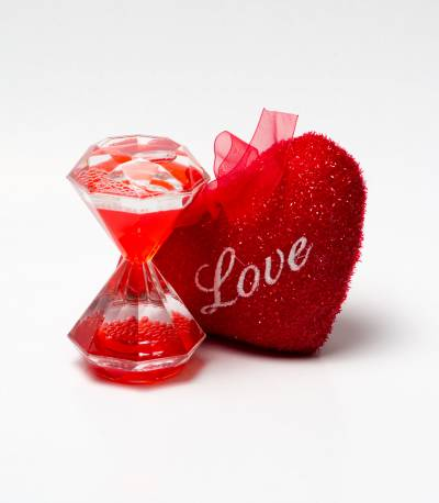 Cute Love Pillow And Timer