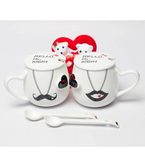 Mr And Ms Right Couples Mug