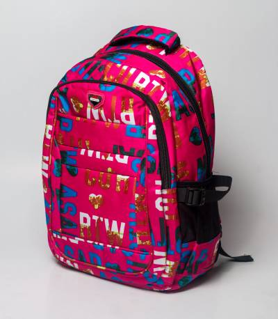 Liban Pink Letter Backpack