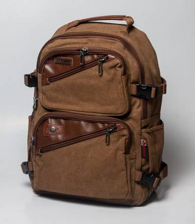 Witzman Stylish Casual Brown Backpack