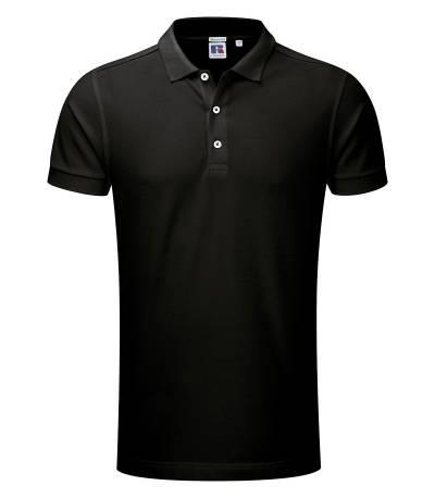 Black Polo Shirt For Man