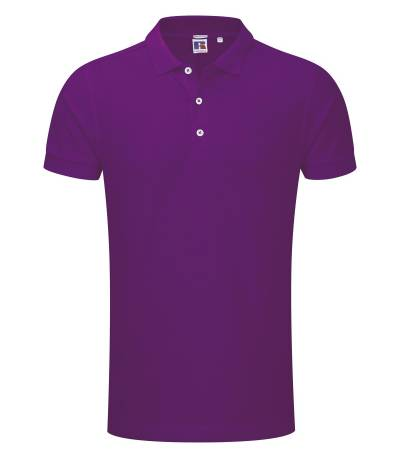 Purple Polo Shirt For Man
