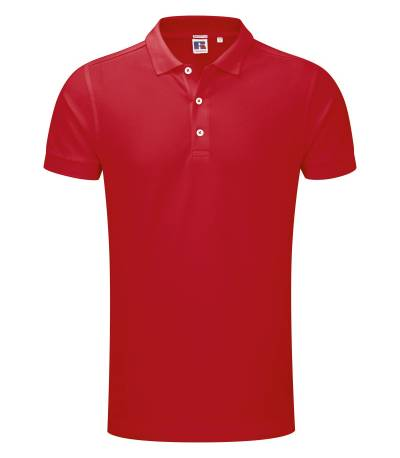 Classic Red Polo Shirt For Man