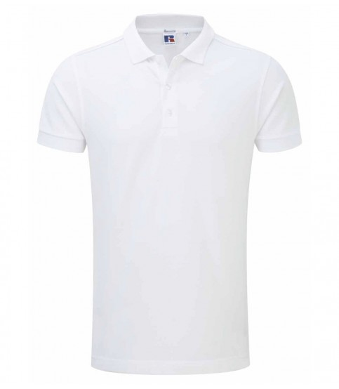 White Polo Shirt For Man
