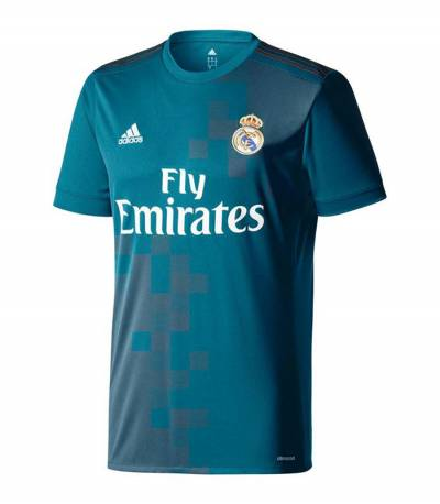 Real Madrid Third Soccer Jersey 2017-2018