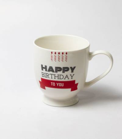 Happy Birthday Candle Mug