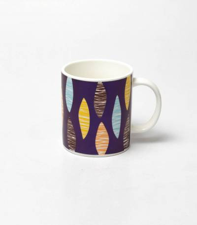 Purple Abstract Mug