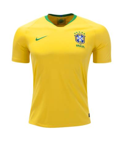 Brazil Away Jersey World Cup 2018