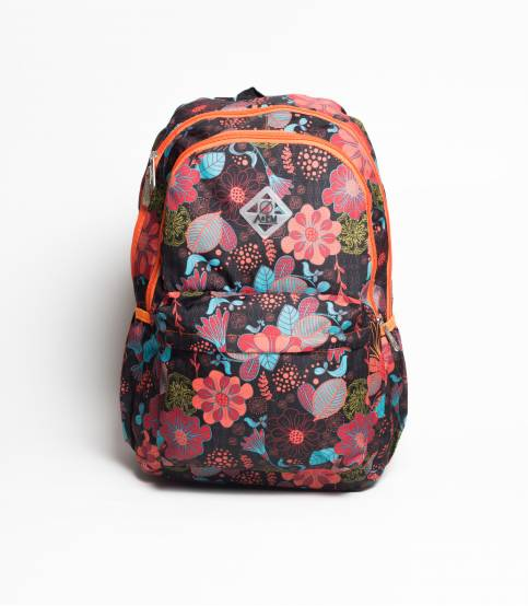 A&EM Floral Multicolor School / College Bag