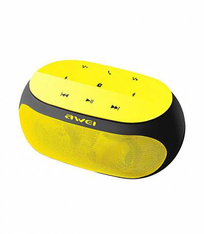 Awei Y200 HiFi Wireless Speaker (Yellow)