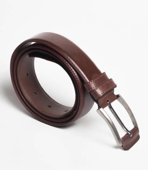 Brown Yarn Waistline Belt