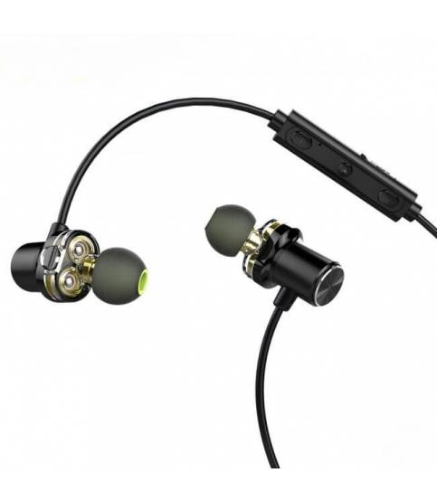 AWEI X650BL Dual Driver Bluetooth Headphone