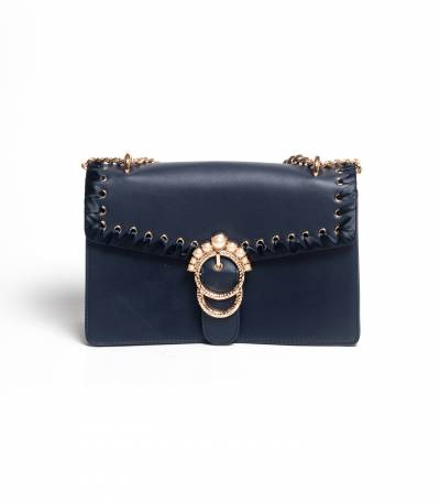 Susen Hand Purse Navy Bag