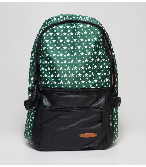 Green Backpack With Star