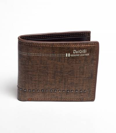 Daiqisi Brown Leather Wallet