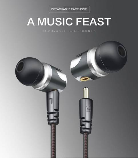 QKZ DM4 Detachable Headphone