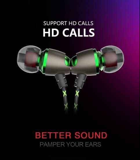 QKZ DM11 Magnetic Stereo BASS Earphone