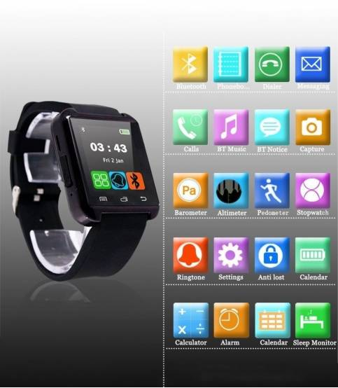 U8 Bluetooth Smart Watch