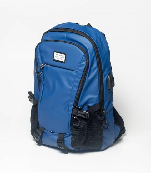 Xin Yuan Multi Functional Blue Waterproof Backpack