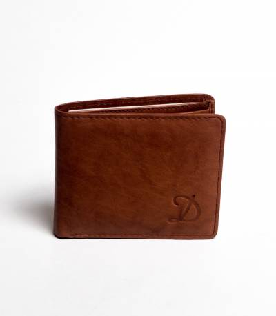 Dinoos Leather Wallet Chocolate
