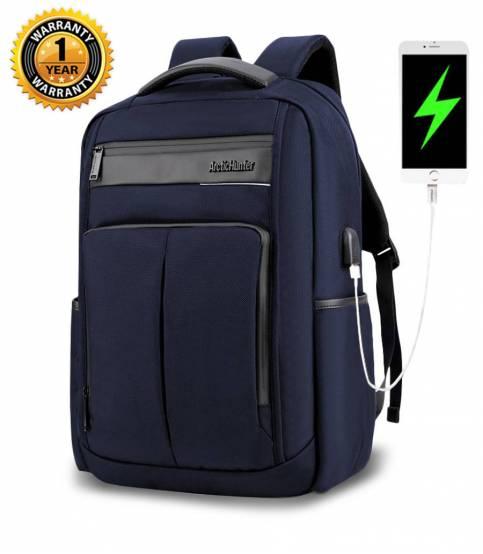 ARCTIC HUNTER Waterproof Travel Blue Backpack V2