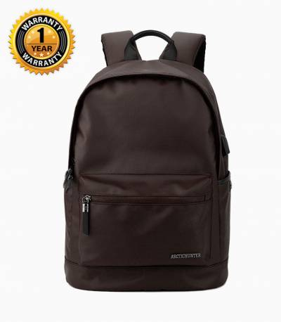 ARCTIC HUNTER Waterproof Oxford Brown Backpack